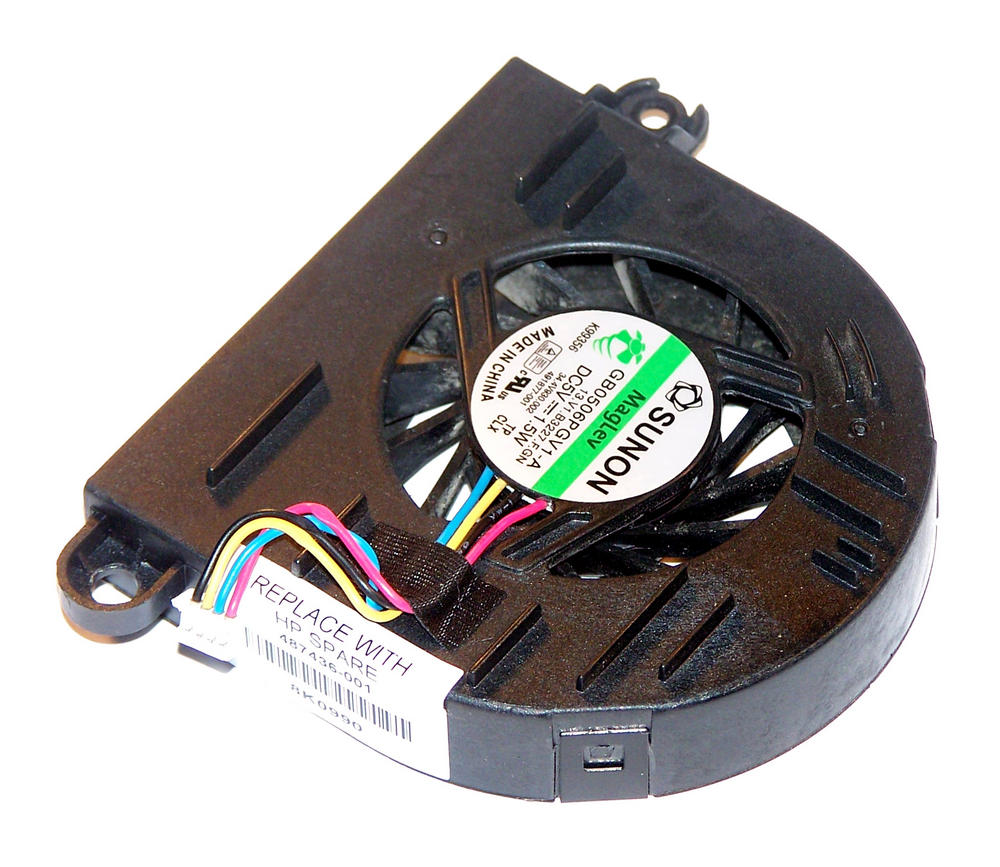 HP 491877-001 EliteBook 6930p 5VDC 0.33A 4-wire Fan | GB0506PGV1-A | SPS 487436-
